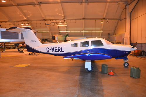 G-MERL PA-28 Arrow IV