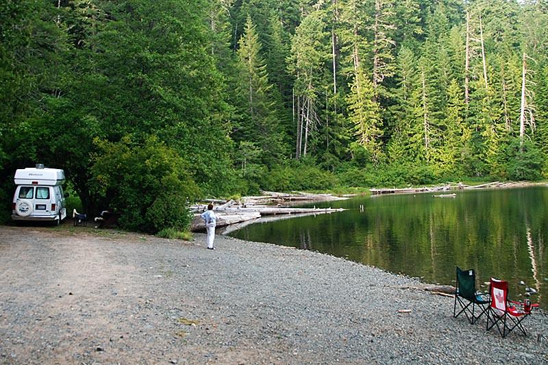 Schoen Lake Provincial Park, Nimpkish Valley, North Vancouver Island, British Columbia, Canada