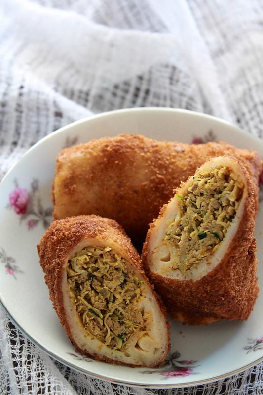 Bakery Style Chicken Rolls