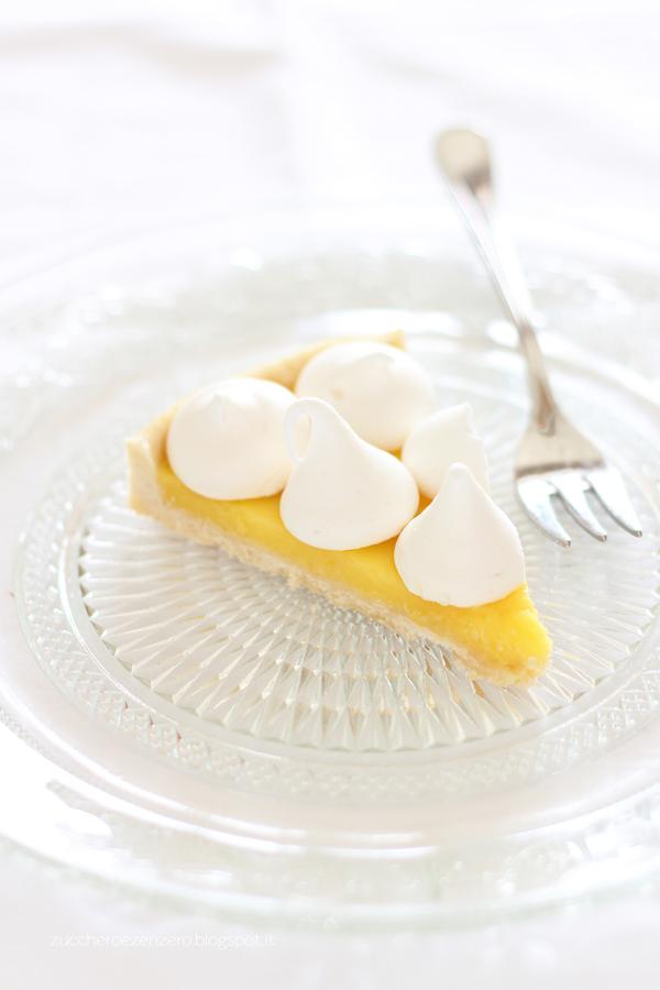 Tarte al limone e meringhe