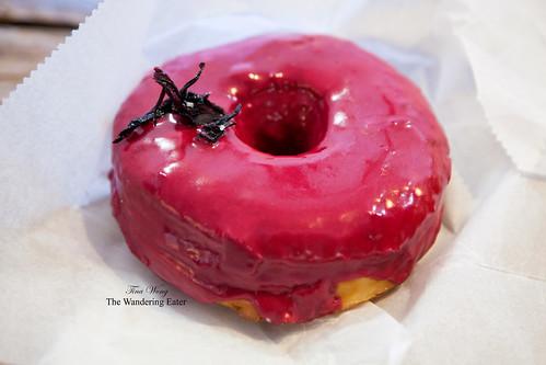 Hibiscus doughnut by Dough