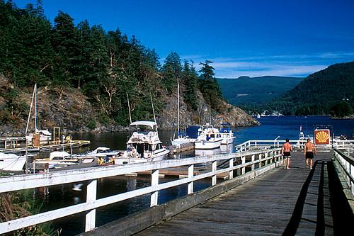 Irvines Landing, Sechelt Peninsula, Sunshine Coast, British Columbia, Canada