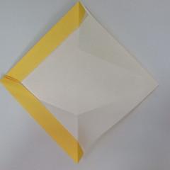 สอนวิธีพับกระดาษเป็นรูปลูกสุนัขยืนสองขา แบบของพอล ฟราสโก้ (Down Boy Dog Origami) 034