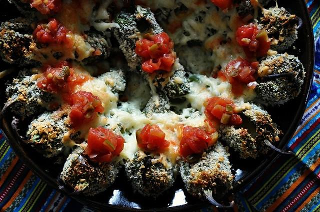 Oven Roasted Jalapeño Poppers