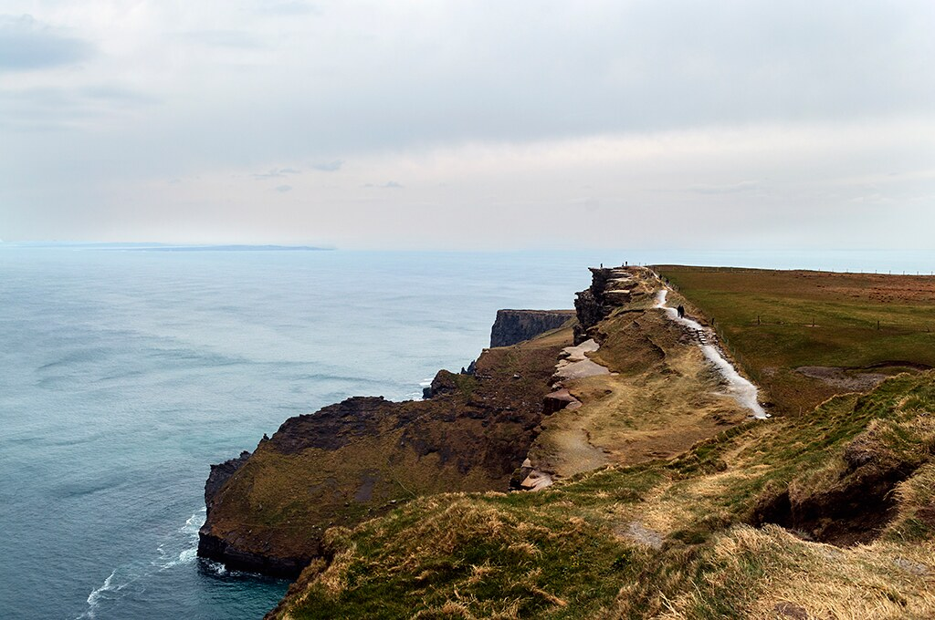 Ireland. Cliffs of Moher.