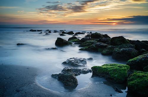morning seascape beach sunrise northcarolina carolinabeach fortfisher wilmingtonnc kurebeach sel35f28z sonyilce7