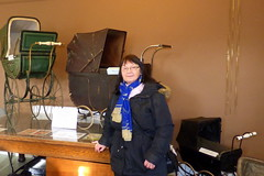 Janice Edmonds from Hedon visits Museum