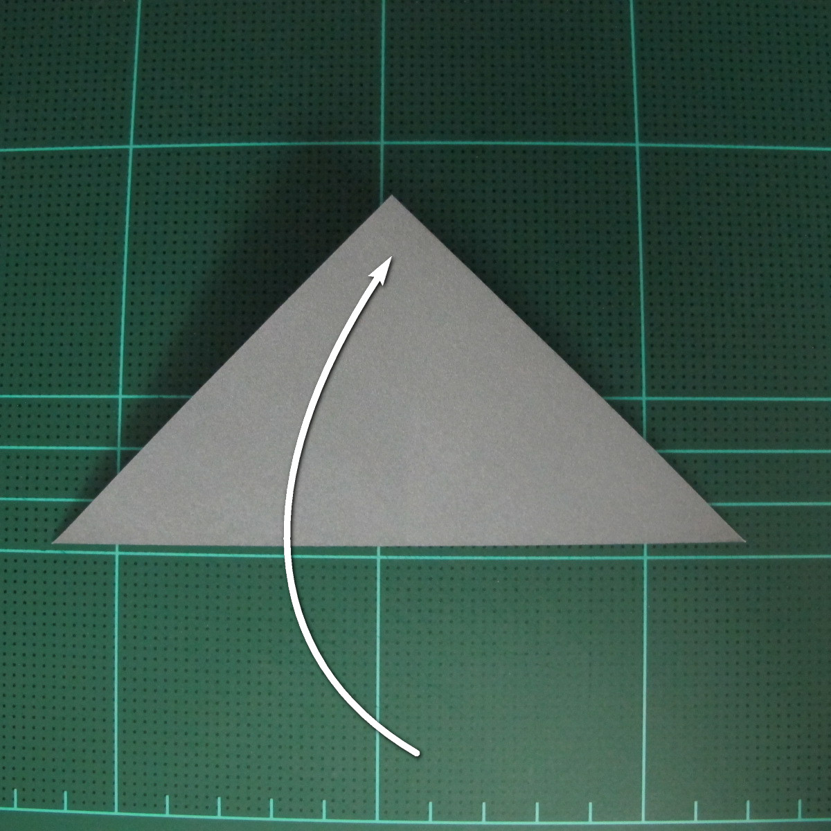 วิธีพับกระดาษเป็นรูปลูกสุนัข (แบบใช้กระดาษสองแผ่น) (Origami Dog) 004
