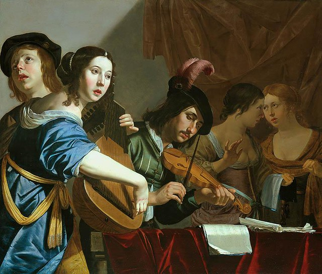 Musical Company by Jan van Bijlert (c1597–1671)