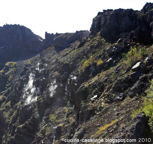 Vesuv Dampf