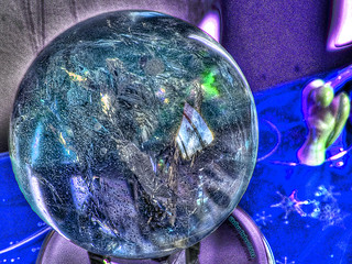 Crystal Ball-Angel-HDR