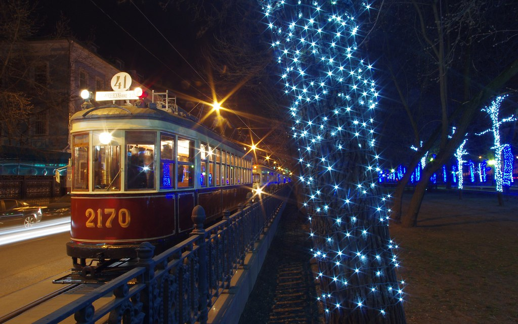 Moscow museum tram KM