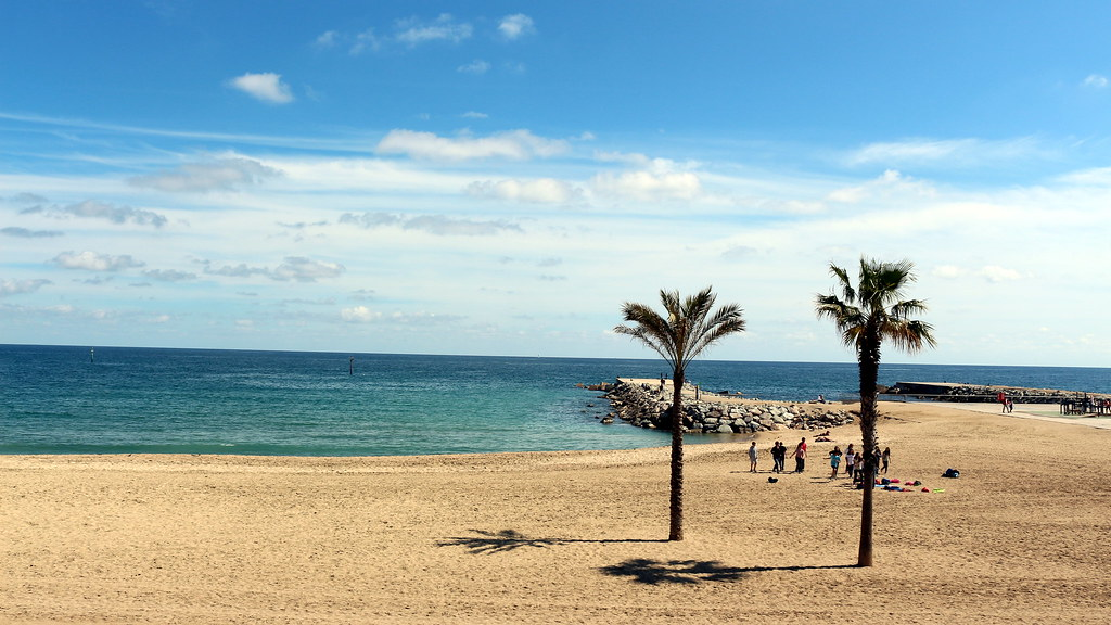 Barceloneta beach photo