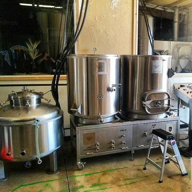 3 Barrel Portland Kettle Works Pilot System #brewing #beer