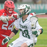 2014-04-04 -- Men's lacrosse vs Olivet College