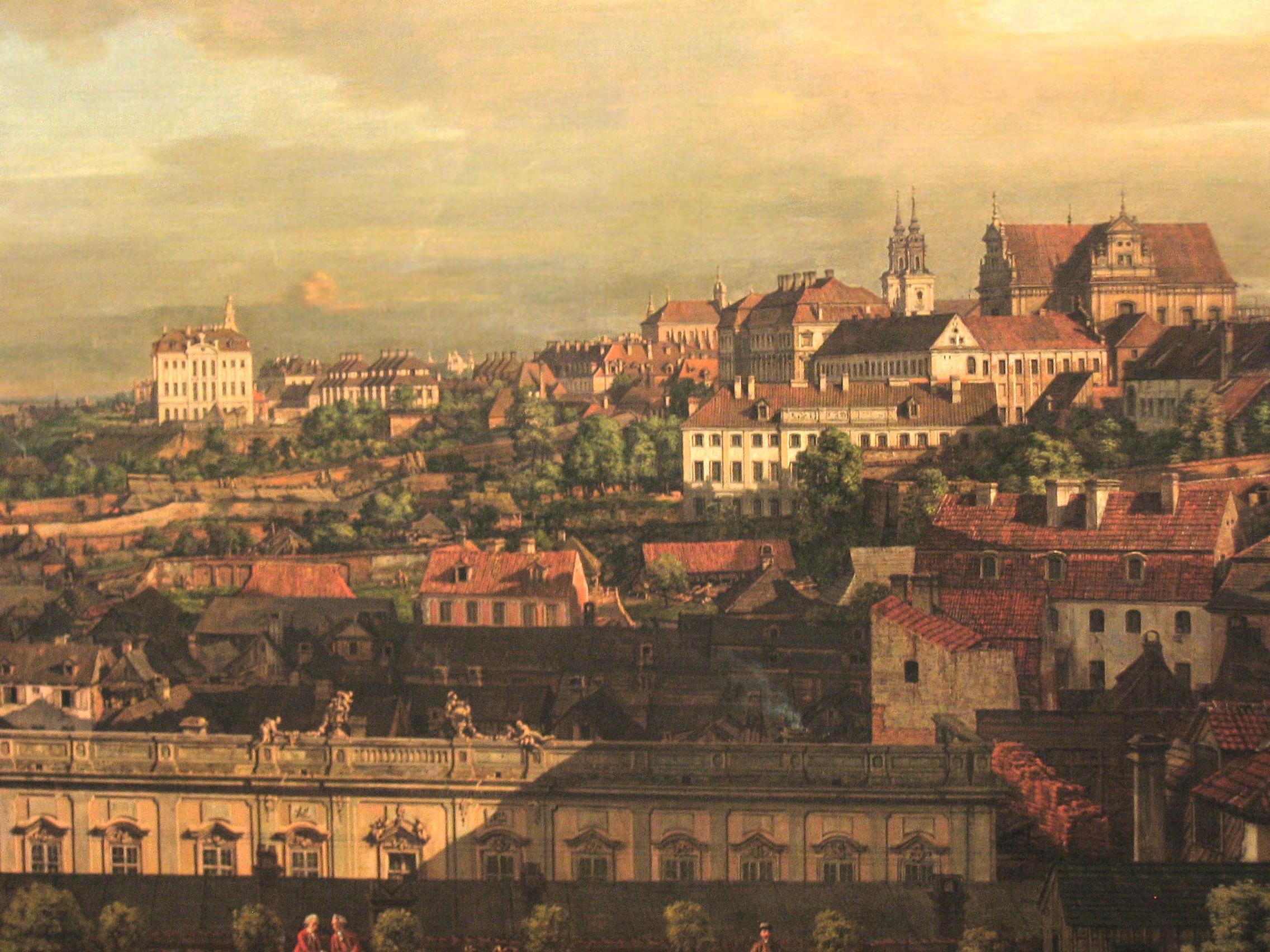 十八世纪华沙风景画6