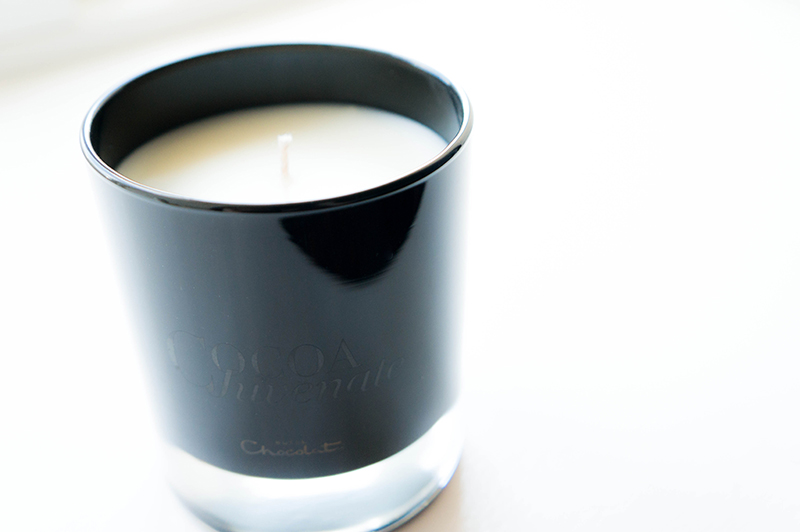 Hotel Chocolat Cocoa Juvenate Range: Treatment Candle | www.latenightnonsense.com