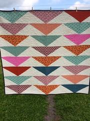 Mom's Quilt. Fun to make.