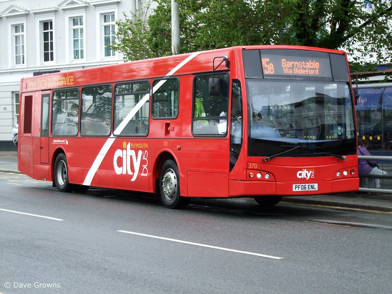 Plymouth Citybus 370 a