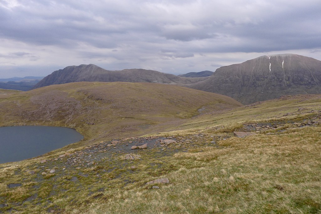Descent of Ruadh Stac Mor