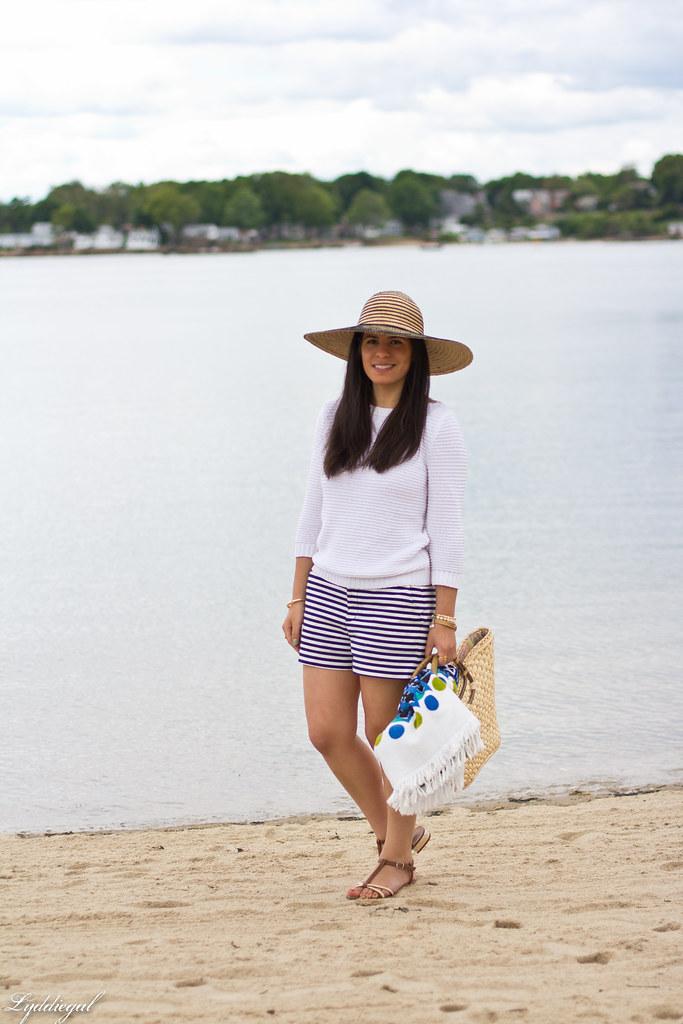 white sweater, striped shorts-4.jpg
