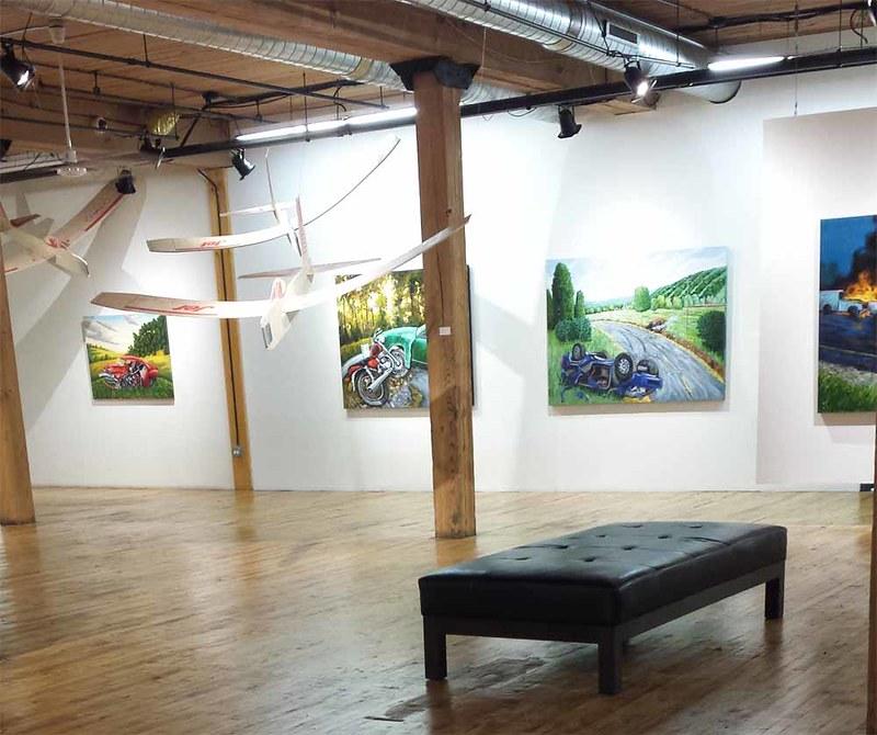 Throes of Progress at the Bridgeport Art Center