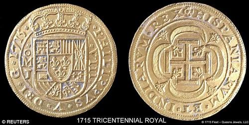1715 Tricentennial Royal coin