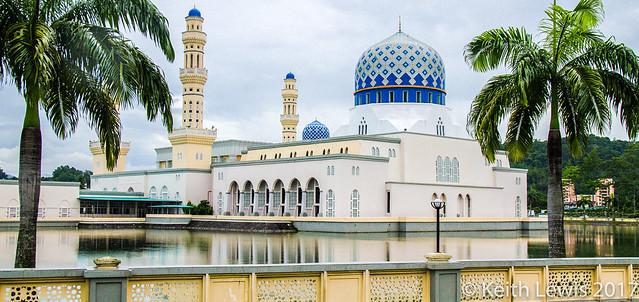 The City Mosque  Kota Kinabalu