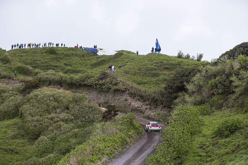 04 GRIEBEL Marijan KOPCZYK Stefan Skoda Fabia R5 Action during the 2017 European Rally Championship ERC Azores rally,  from March 30  to April 1, at Ponta Delgada Portugal - Photo Gregory Lenormand / DPPI