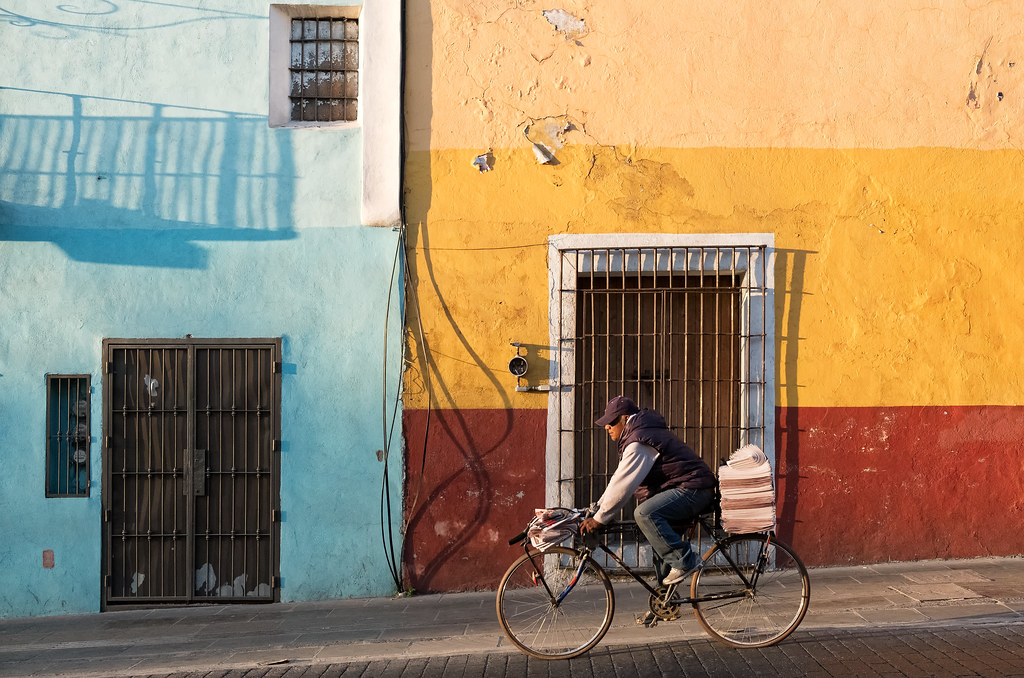 Puebla by bike