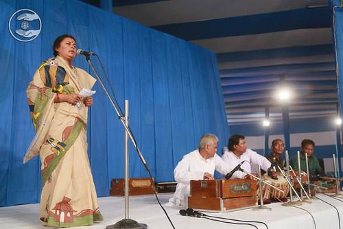 Devotional song by Rupali Saha from Kolkata