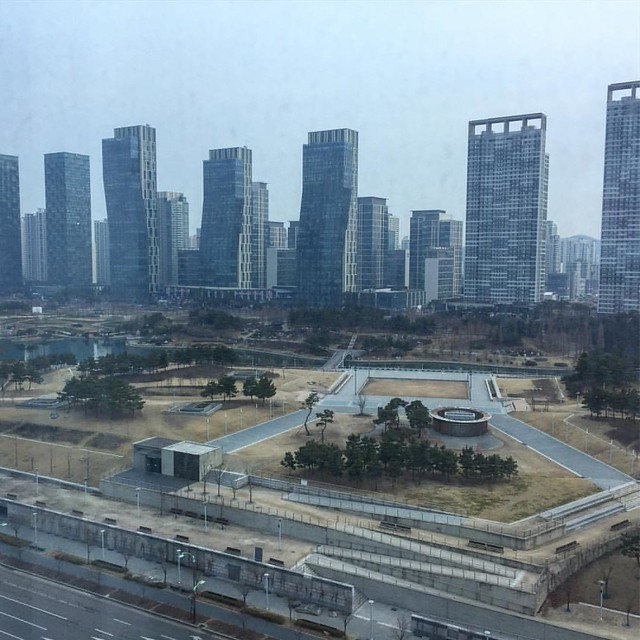 Good morning from #Songdo, South Korea! Excited to visit Chadwick International School and participate in Design Do Discover! #d3CI #MakerEd #STEAM