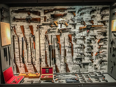 Firearms at the NRA National Firearms Museum Fairfax VA