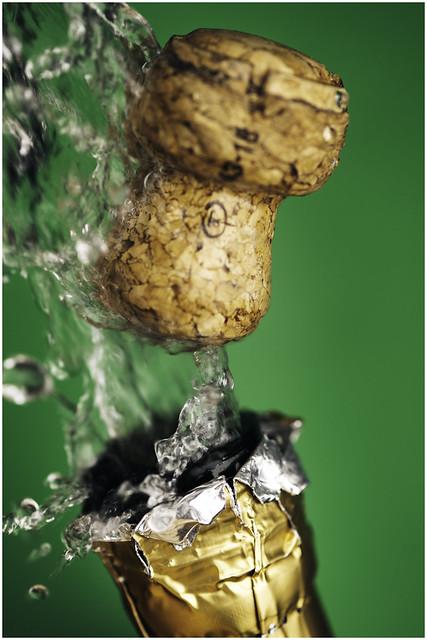 Macro Mondays - Happy 10 Years! - Popping Cork!