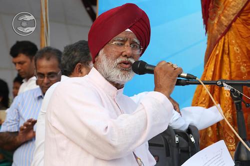 Stage Secretary, Kuldeep Singh from Delhi