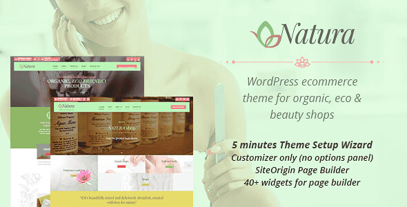 Natura WordPress Theme free download