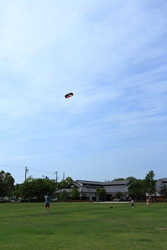 おじいさんと凧1