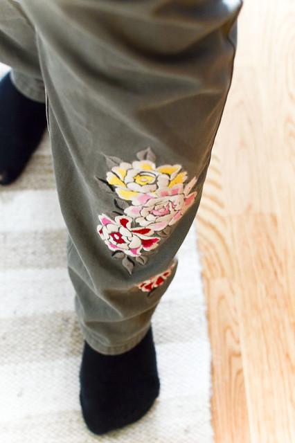 peace army pants