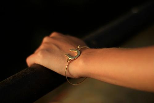 b golden hm bracelet