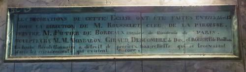 Eglise St Martin, Lévignacq, pays de Born, Landes, Aquitaine, France.