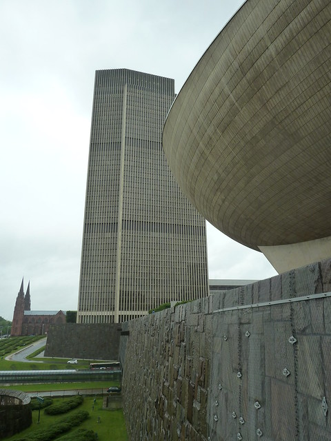 The Egg and Corning Tower Building, Empire State Plaza, Albany NY II