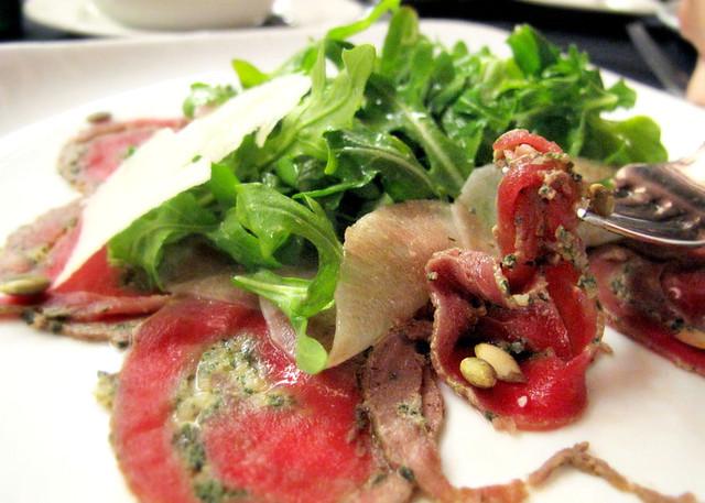 Aaron Craze, Rude Boy Cooks in Kuala Lumpur - beef carpaccio