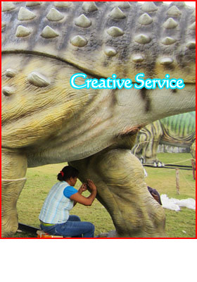 Animatronic Dinosaur Repair