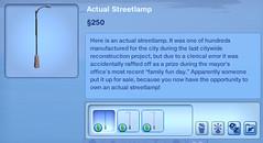 Actual Streetlamp