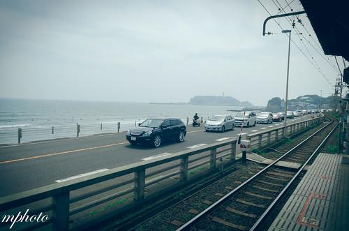 鎌倉高校 湘南海岸