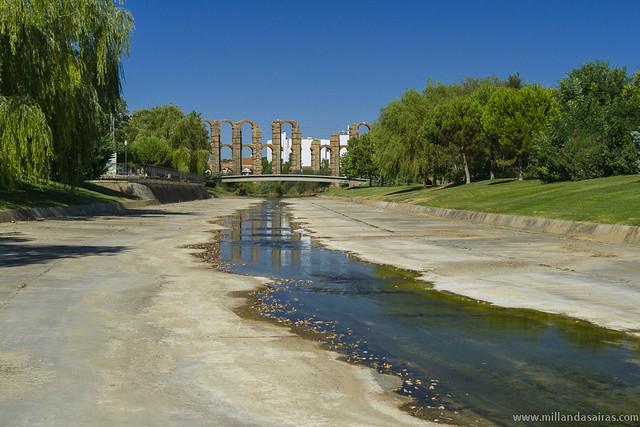 Arroyo Albarregas y Acueducto Romano