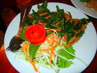 mekong river fish with thai basil sauce