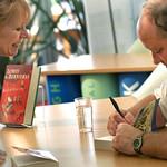 Louis de Bernières book signing |