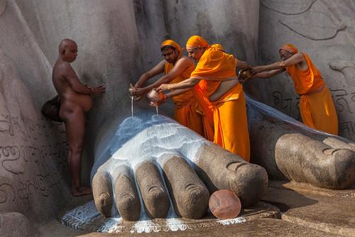 Jainism, Shravanabelagola by Marji Lang