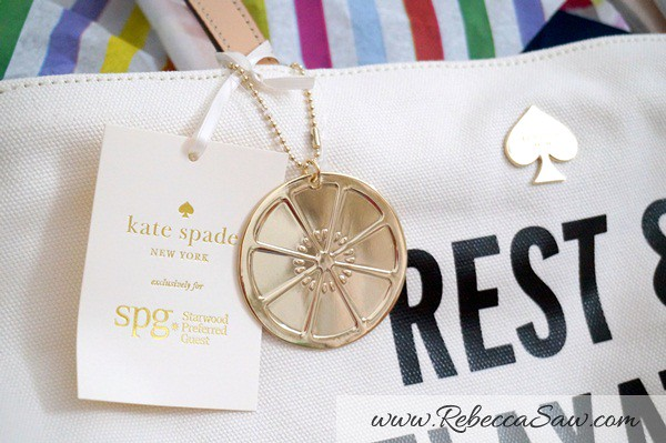 SPG Card Starwood Hotels - Kate Spade Tote-004